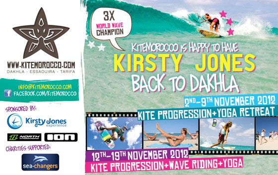 Kirsty Jones Yoga, Kite Retreat – Dakhla