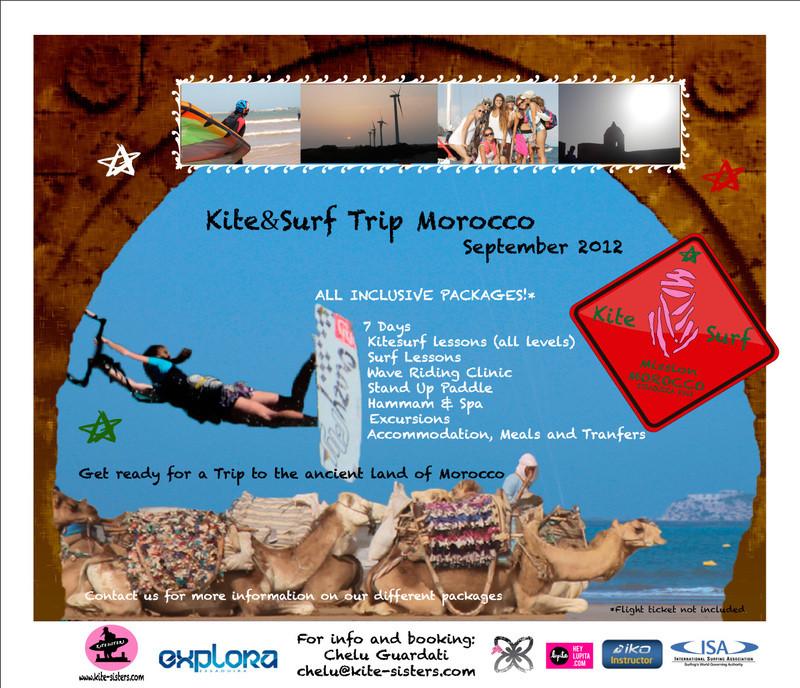 Kite & Surf Trip Morocco!