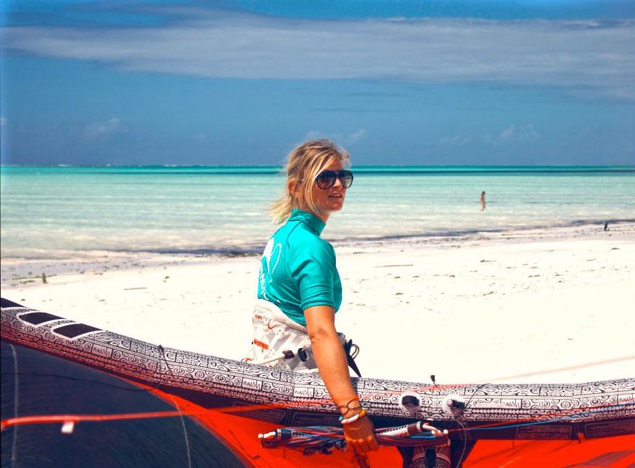 Kite Sista In Zanzibar until October