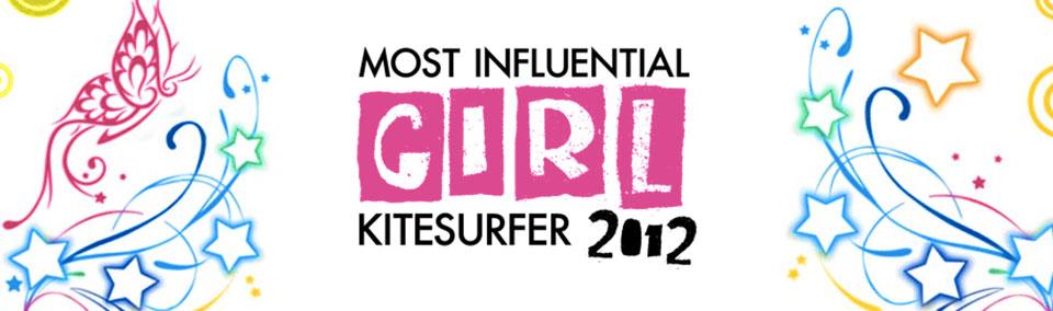 Most Influential Girl Kitesurfer 2012