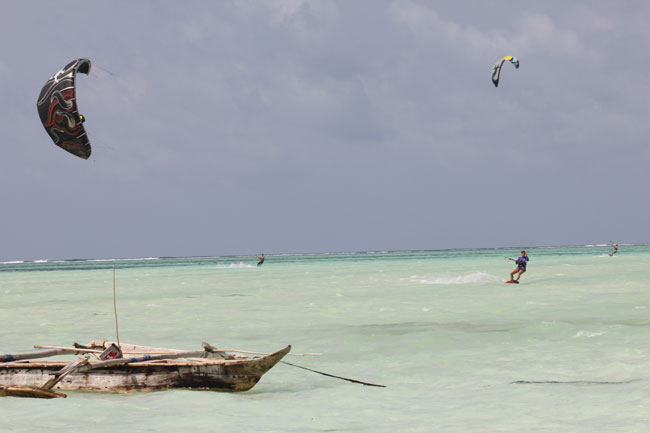 Lisette in Zanzibar - Paje