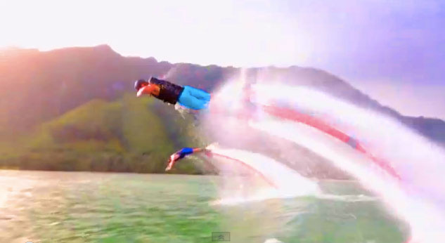 The Coolest Water Jet Pack Ever