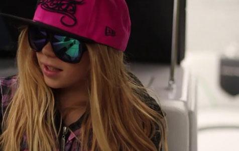 Zahra Kell: 9 year old World Champion Wakeboarder