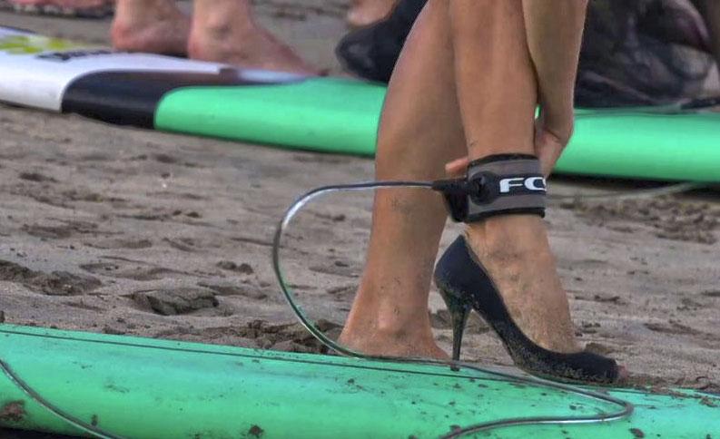Surfing In Heels