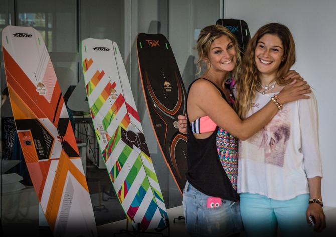 Céline Rodenas & Sofi Chevalier - F-ONE Team riders