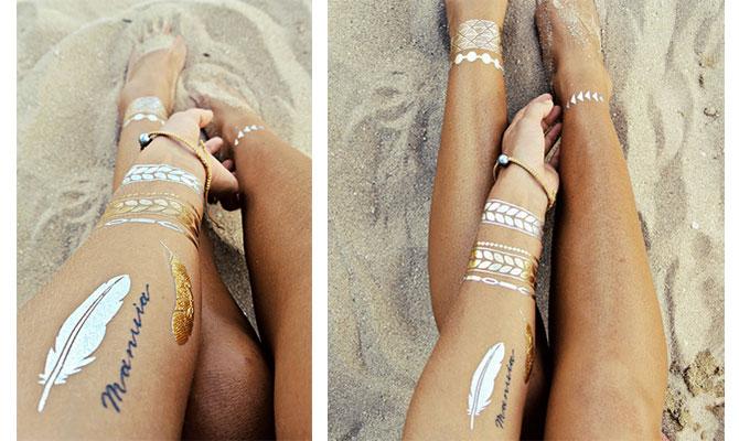 Flash Tattoos With Goldfishkiss