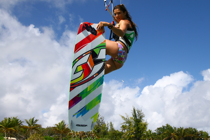 Céline Rodenas - F-ONE rider - KiteSista