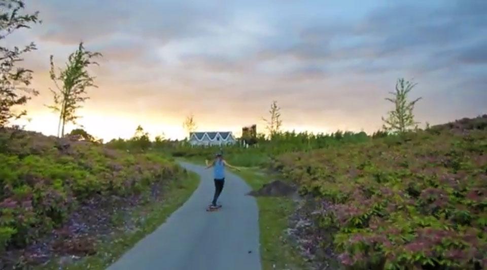 Longboarding: Dancing Through Colours