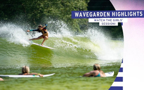 Wavegarden Highlights – Roxy Pro Biarritz 2013