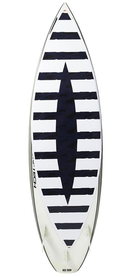 Surf diverter sticker