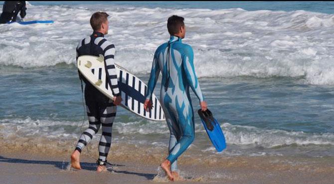 Radiator Shark Deterrent Wetsuits