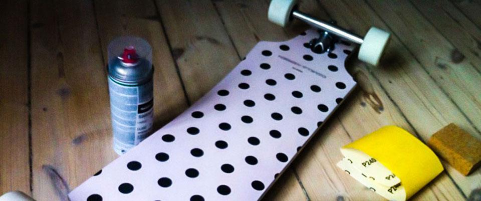 Custom Bustin Longboard by camillaiversen.dk