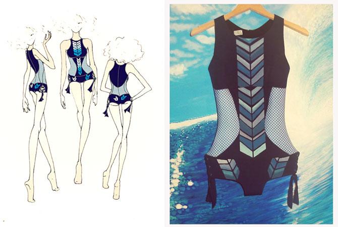 Handmade Siren Wetsuit by Sirensong wetsuits