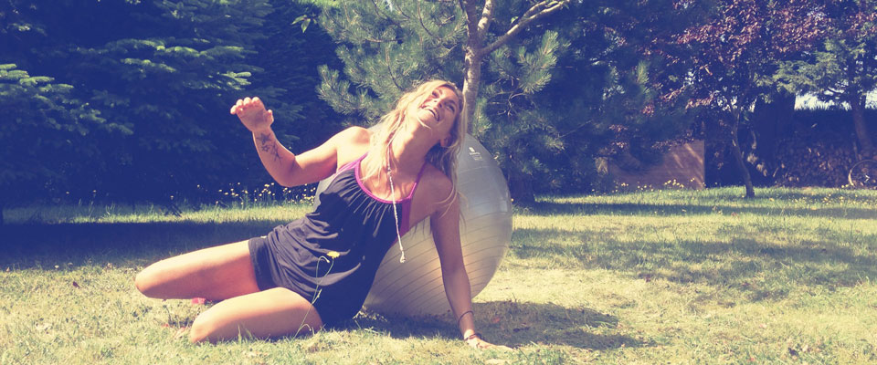 KiteSista Training: Swiss Ball Exercices