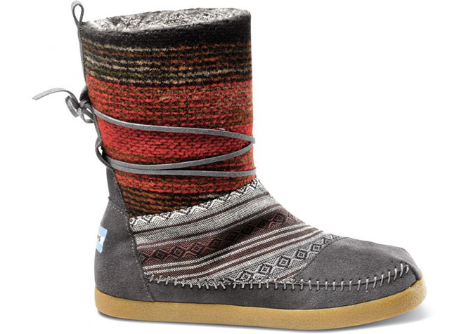 Toms - Mixed Woven Women's Nepal Boots