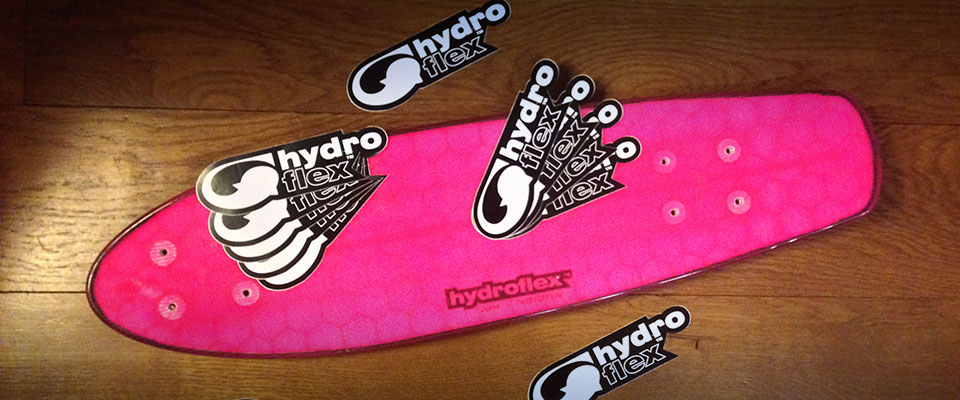 COMPETITION: Win a Pink Hydroflex Deck