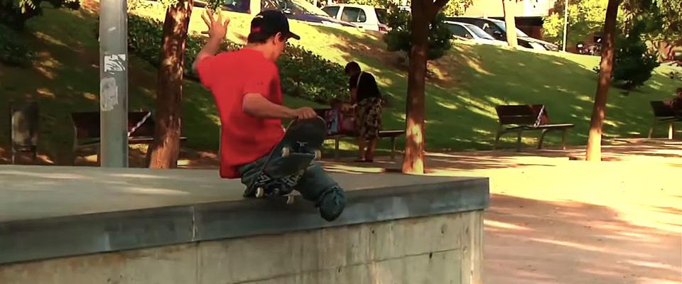 Skateboarding With No Legs: Italo Romano