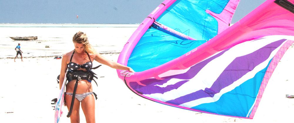 Kitesurfing While Pregnant