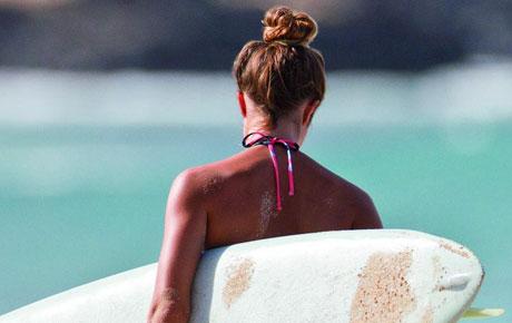 Beach Bun Hair Styles