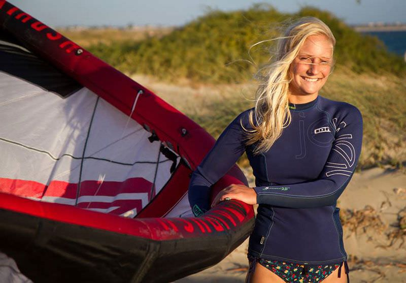 KiteSista Meets: Rosanna Jury – Kiting in Cold Water