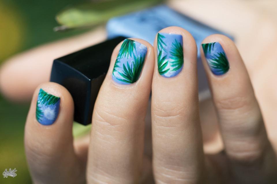 Nail Art Tutorial: Palm Tree Inspiration - KiteSista