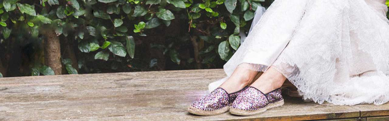 Glittery Espadrilles – The Summer Shoes