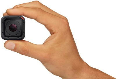 Meet the smallest GoPro yet, the HERO4 Session.