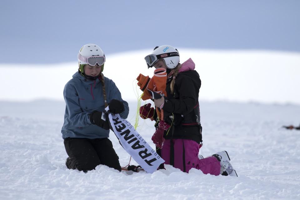 Kari Schibevaag - Snowkiting KiteSista