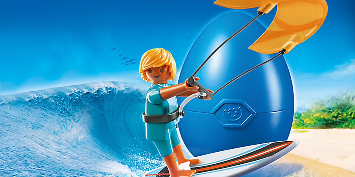 Playmobil Kitesurfer The Ultimate Present for the Kiter in Your Life