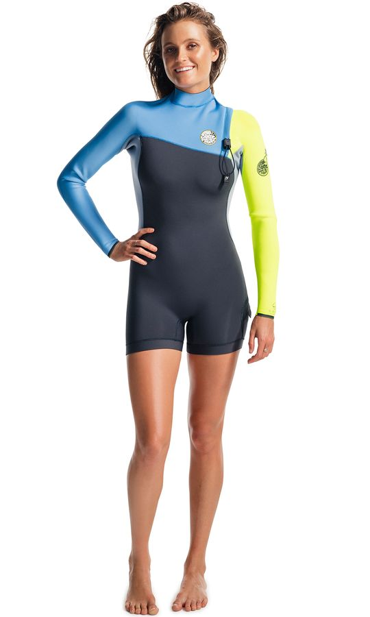 Rip Curl G-Bomb LS Zip Free Spring Wetsuit 2016