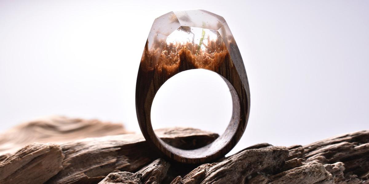 """Magical """"Secret Wood"""" Underwater Rings"""