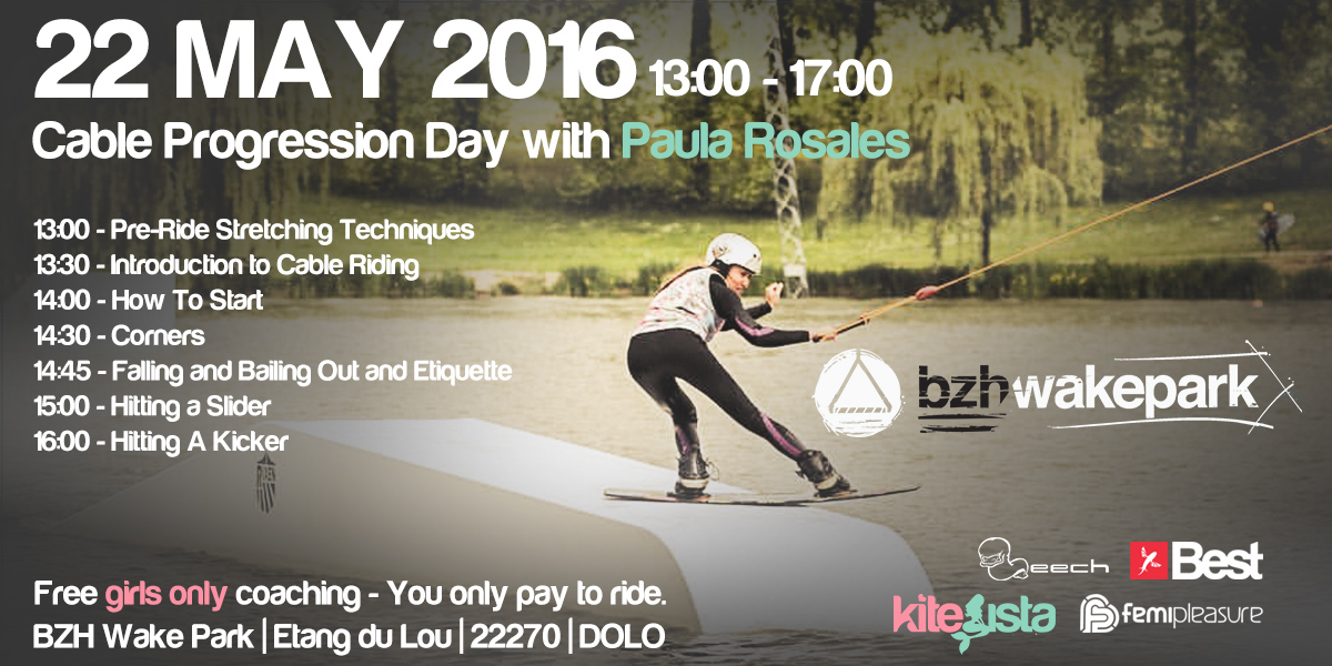 KiteSista Cable Progression Day with Paula Rosales