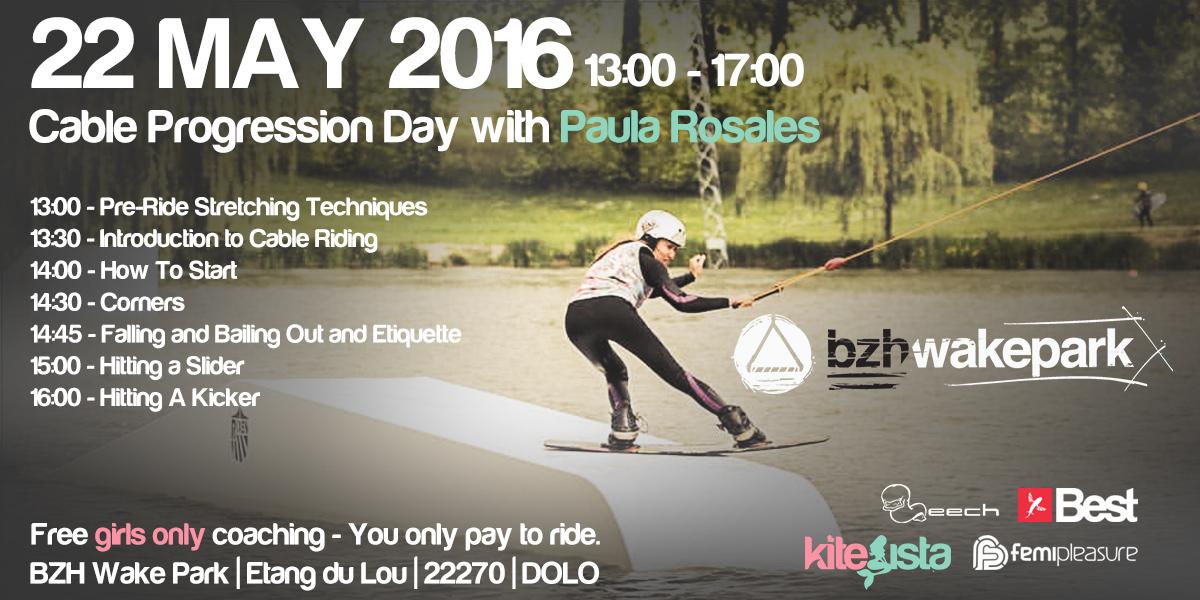 KiteSista Cable Progression Day with Paula Rosales