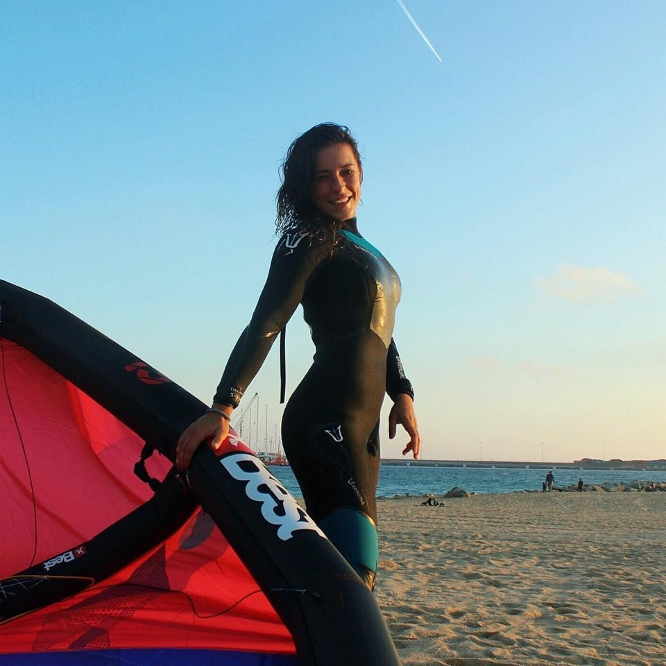 Girl getting out of wetsuit naked phrase