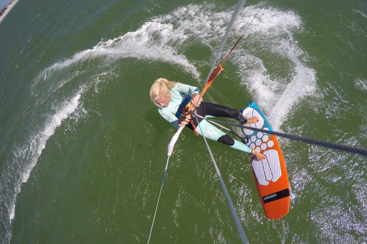 How to Jibe with Kari Schibevaag - KiteSista