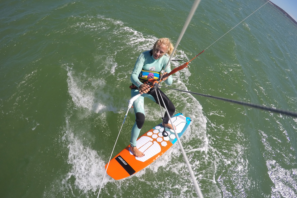 How to Do A Kitesurfing Strapless Jibe
