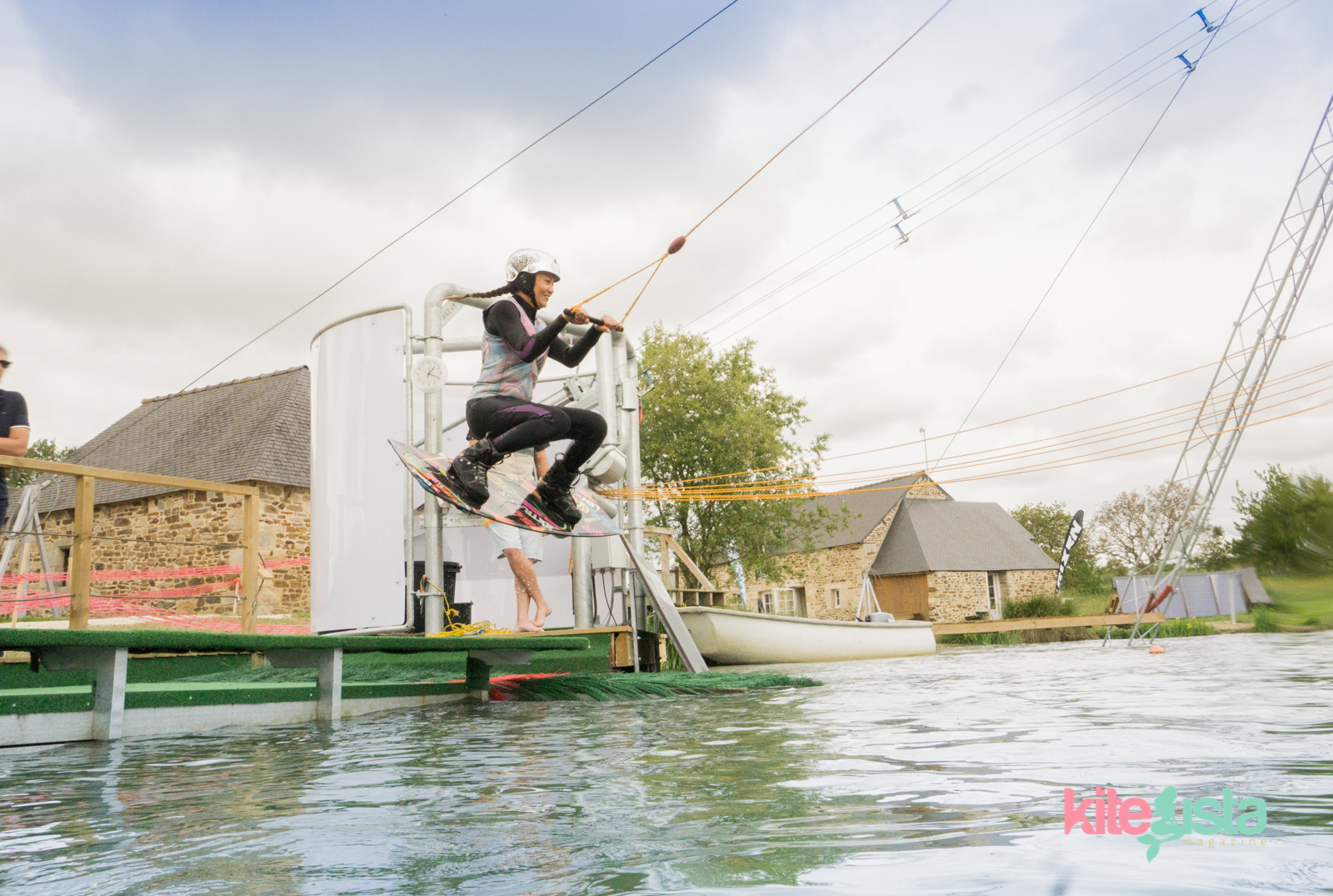 Wakeboard tutorial Jumping start - KiteSista