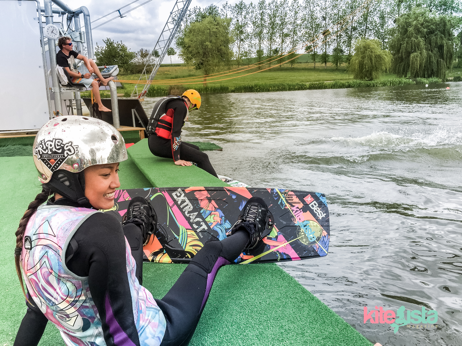 How to Start at the Cable Park without Crashing