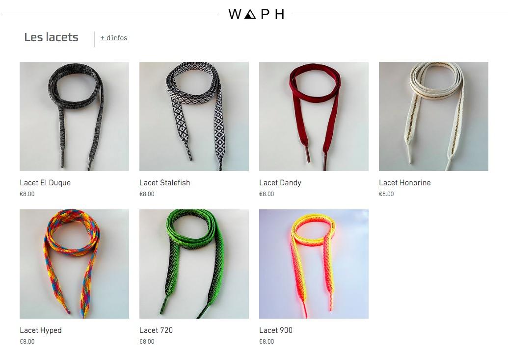 Shoelace Waph - KiteSista