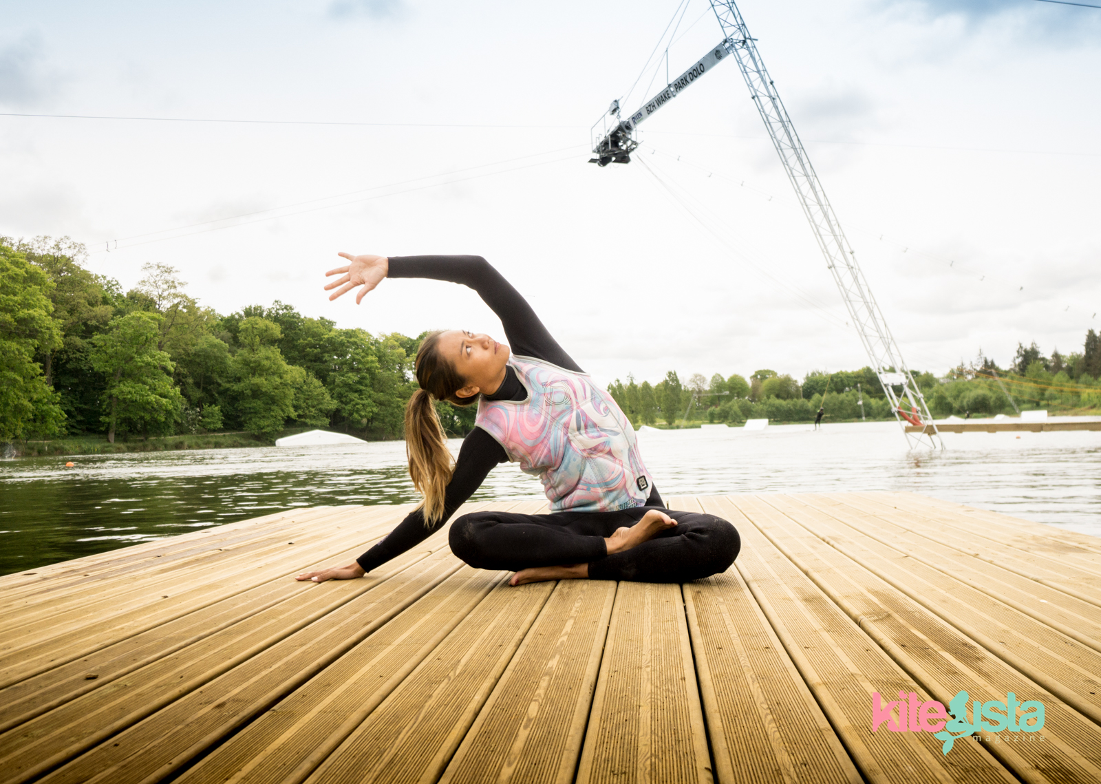 How to Stretch before a Session at the Cable park