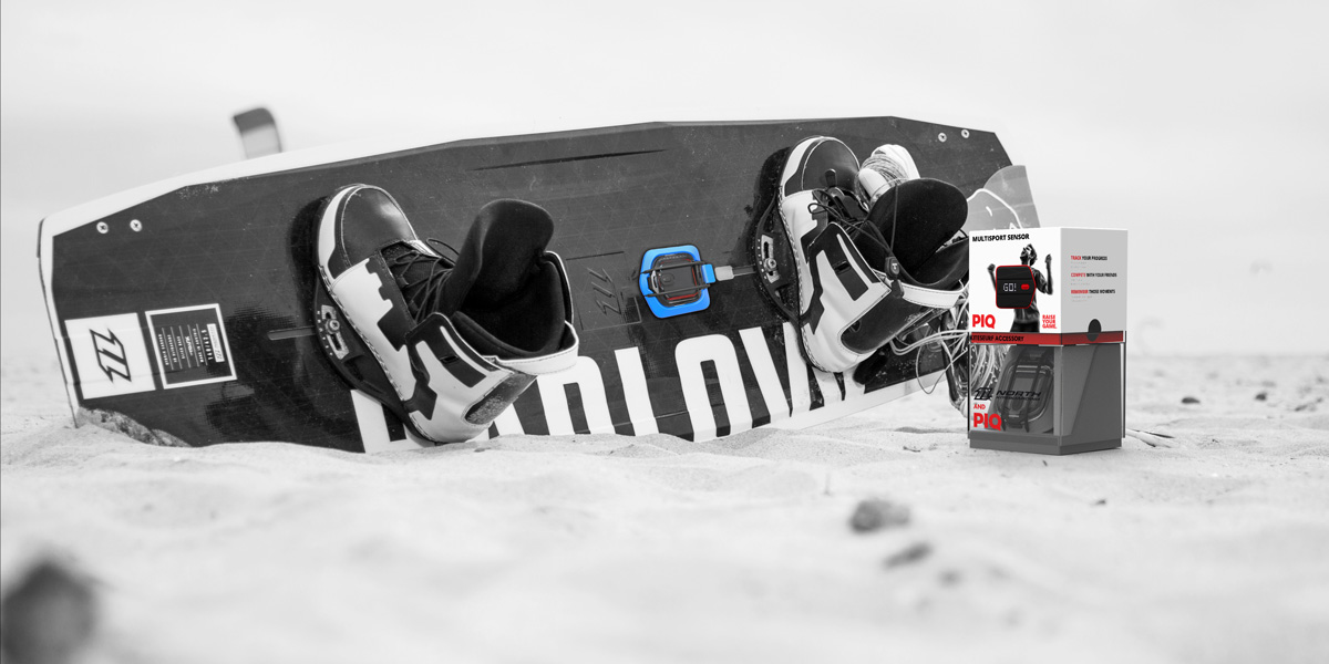 WIN a PIQ Kiteboarding Sensor with North
