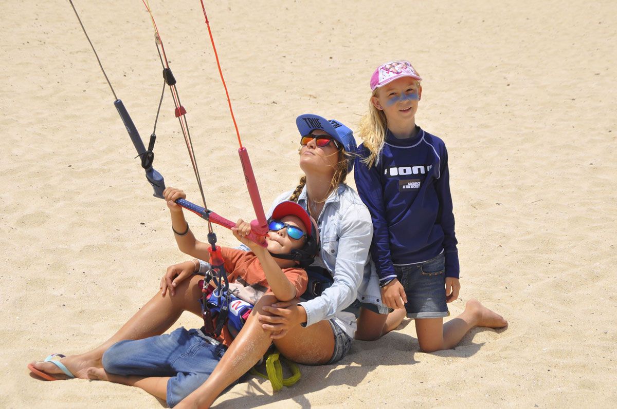 Is your kid ready to kiteboard - Julia Castro