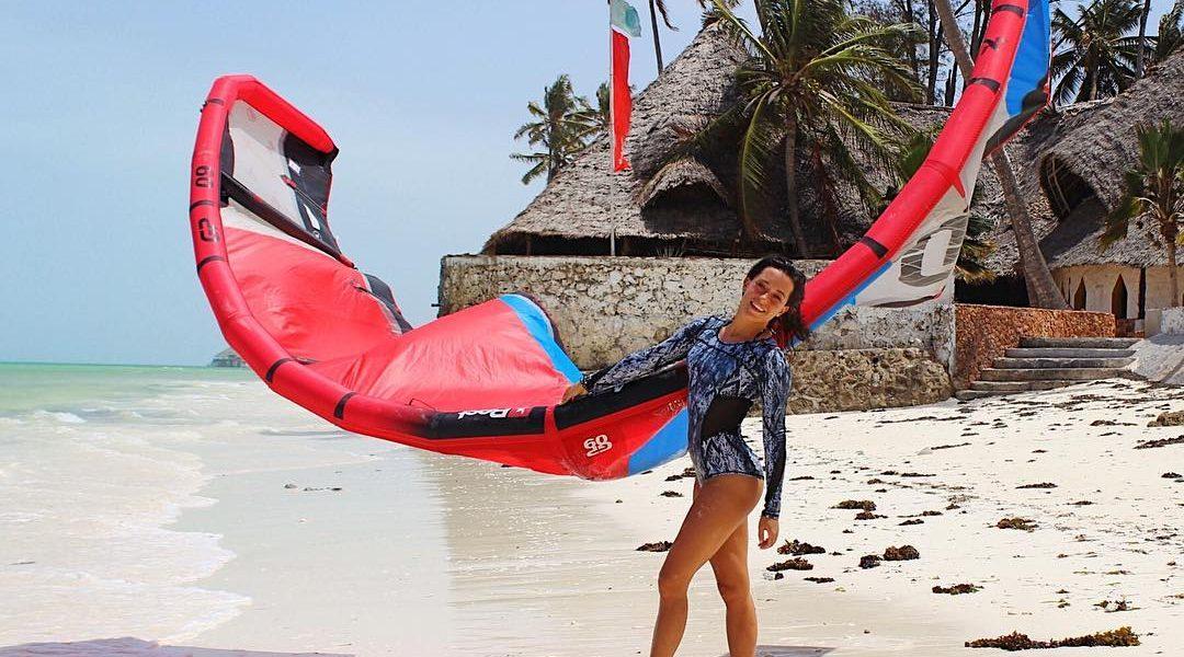 Rita Arnaus in Zanzibar