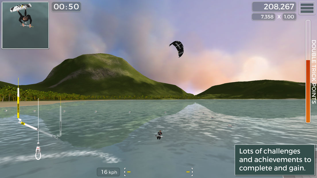 Kiteboard Hero – A Kiteboarding Game That Actually Works