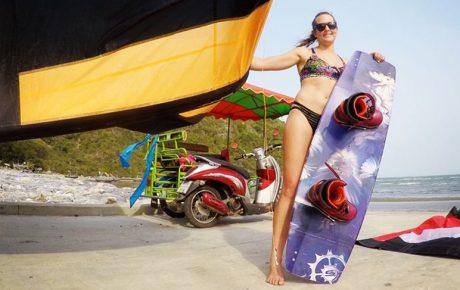 Karolina Winkowska - Few jumps from Thailand