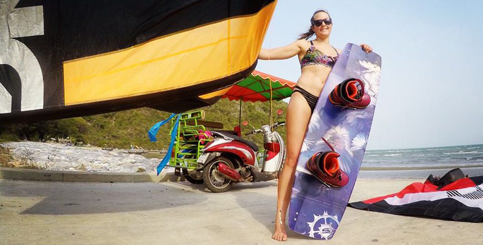 Kite AND Wake in Thailand with Karolina Winkowska