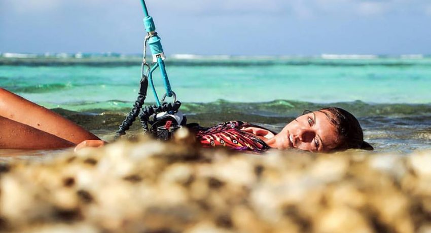 Liloo Fourre in Los Roques – Kiting in Paradise with Rita Arnaus