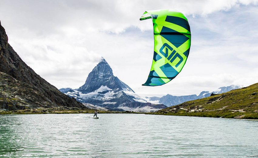 This is What it is Like to Kitesurf in Switzerland