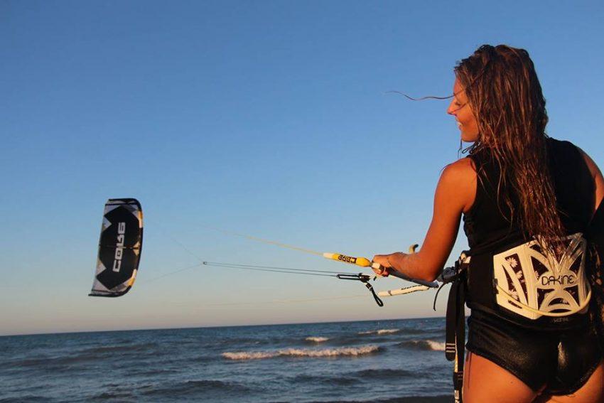 Kitesurfing in Spain Summer 2017 Alina Kornelli