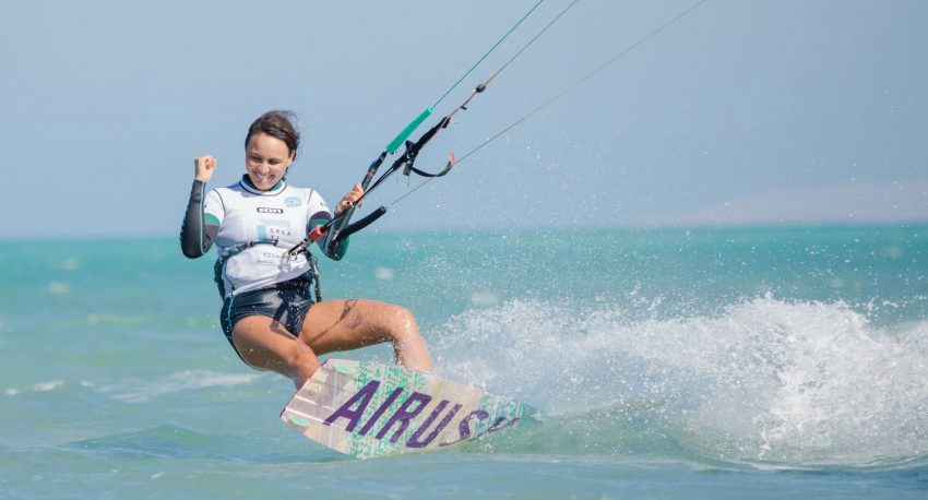 The Girls WKL Elite League Riders in El Gouna Rise to the Occasion